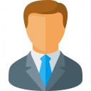 Businessman Icon 128x128