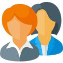 Businesswomen Icon 128x128