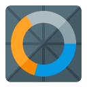 Chart Donut Icon 128x128
