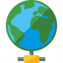 Earth Network Icon 128x128