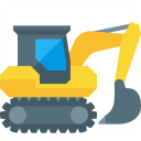 Excavator Icon 128x128