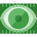 Eye Scan Icon 128x128