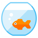 Fish Bowl Icon 128x128