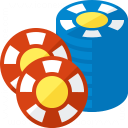 Gambling Chips 2 Icon 128x128