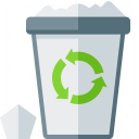 Garbage Overflow Icon 128x128