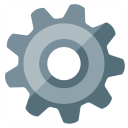 Gearwheel Icon 128x128