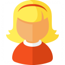 Girl Icon 128x128