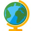 Globe Icon 128x128