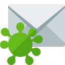 Mail Virus Icon 128x128