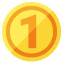 Money Coin Icon 128x128