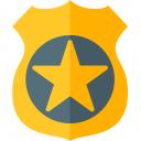 Security Badge Icon 128x128