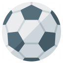 Soccer Ball Icon 128x128