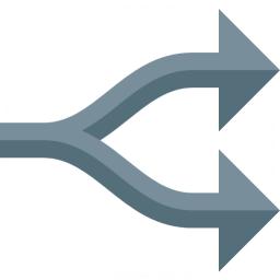 Arrow Fork Icon 256x256