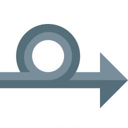 Arrow Loop Icon 256x256
