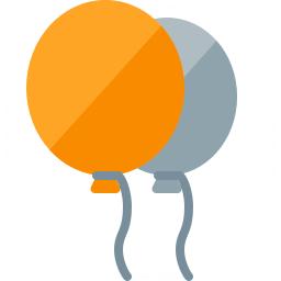 Balloons Icon 256x256