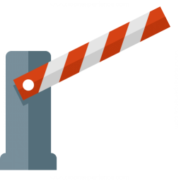 Barrier Open Icon 256x256