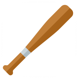 Baseball Bat Icon 256x256