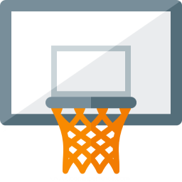 Basketball Hoop Icon 256x256