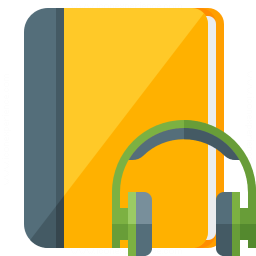 Book Headphones Icon 256x256
