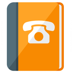 Book Telephone Icon 256x256