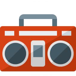 Boombox Icon 256x256