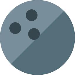 Bowling Ball Icon 256x256