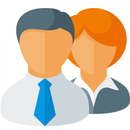 Businesspeople Icon 256x256