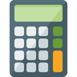 Calculator Icon 256x256