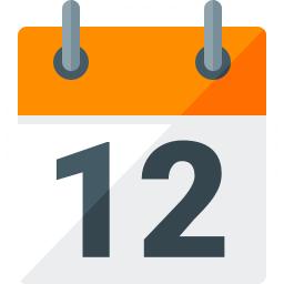 Calendar Icon 256x256