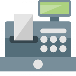 Cash Register Icon 256x256