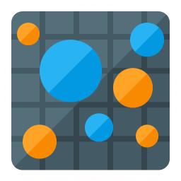 Chart Bubble Icon 256x256
