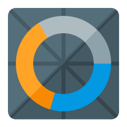Chart Donut Icon 256x256