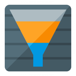 Chart Funnel Icon 256x256