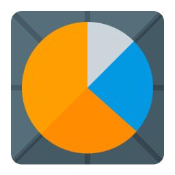 Chart Pie Icon 256x256