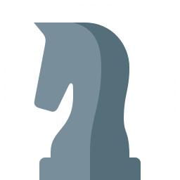 Chess Piece Knight Icon 256x256