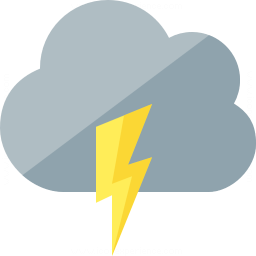 Cloud Flash Icon 256x256