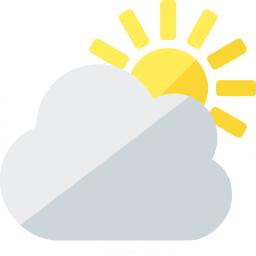 Cloud Sun Icon 256x256
