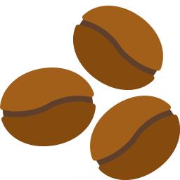 Coffee Beans Icon 256x256