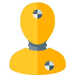Crash Test Dummy Icon 256x256