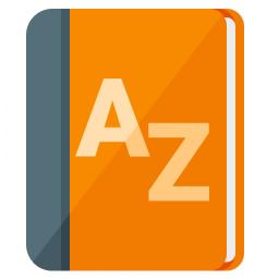 Dictionary Icon 256x256