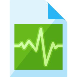 Document Pulse Icon 256x256