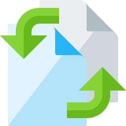 Documents Exchange Icon 256x256