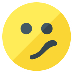 Emoticon Confused Icon 256x256