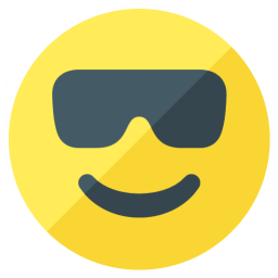 Emoticon Cool Icon 256x256