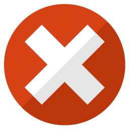 Error Icon 256x256
