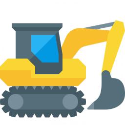 Excavator Icon 256x256