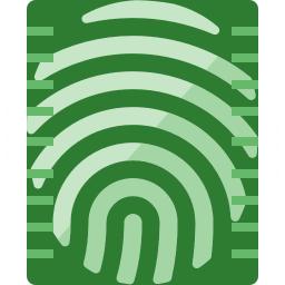 Fingerprint Scan Icon 256x256