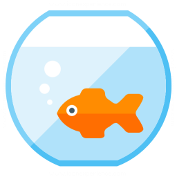 Fish Bowl Icon 256x256