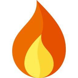 Flame Icon 256x256