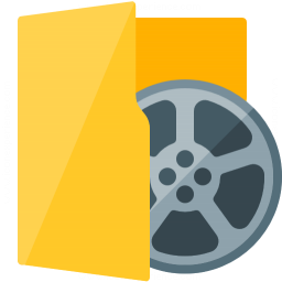 Folder 3 Movie Icon 256x256